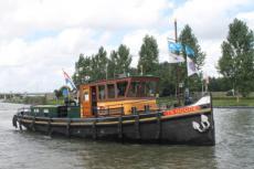 1892 Sleepboot Gebroeders Jonker Te Goude