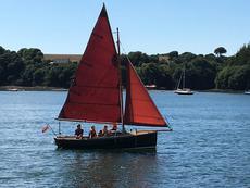 Cornish Shrimper 19 with trailer