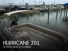2015 Hurricane 201 Sun Deck
