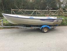 Linder440 fishing boat