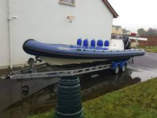 North Craft semi Rigid inflatable.8.5m