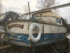 Ormelite 26ft river / canal cruiser project