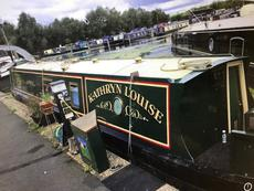 Narrowboat in the heart of Oxford