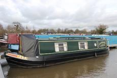 Jemora, 31ft Semi-Traditional style narrowboat. 1993, £24,950
