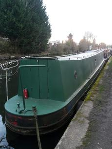 60ft narrowboat (project)