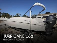 2013 Hurricane 188 Sport Sundeck