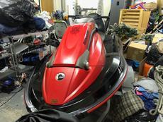 Seadoo 3DDi Jet Ski Red, very low hours