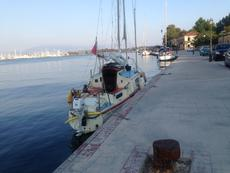 Westerly Windrush in Greece