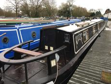 Beautiful 58ft cruiser stern narrowboat