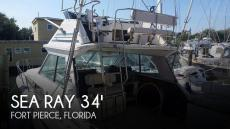 1986 Sea Ray 340 Sport Fish