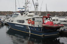Patrol boat built for Norwegian Fishery department