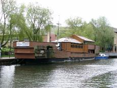 DUTCH BARGE HOUSEBOAT 1890