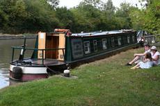 63 foot cruiser stern narrowboat