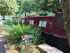 LES ALLEN Narrowboat