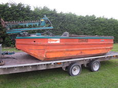 Conver c-480H weed boat, weed cutting