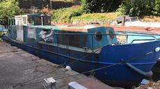 kingfisher 36ft cabin cruiser project