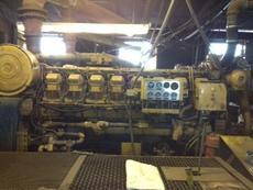 1355 HP 3516DI Marine Diesel Engine