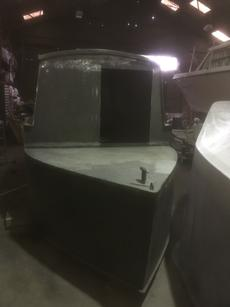 25' narrowboat shell