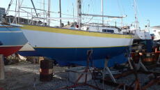 Victoria Frances 26 - Double Ender - Cutter Rigged
