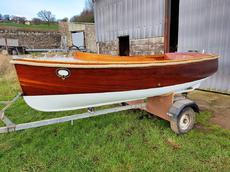 12ft. MORGAN GILES VINTAGE MOTOR-LAUNCH - professionally restored