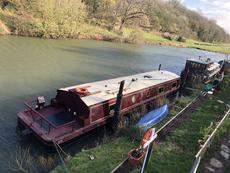 Beautiful 57 x 11ft Widebeam Liveaboard with Potential Mooring