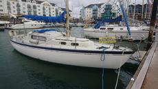 VEGA 27'  CRUISING YACHT, GOOD YANMAR DIESEL  £5995 just reduced