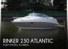 2007 Rinker 230 Atlantic