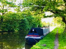 Historic Bantock Narrowboat BALLINGER
