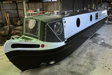 57 Foot Cruiser Stern Wrap around Square Stern with Seating
