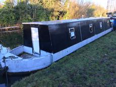 42ft Springer Canal Boat Project