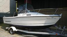 BAYLINER TROPHY SPORTS FISHER,90hp MERCURY £8950