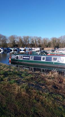 CHELMER TRAD NARROWBOAT
