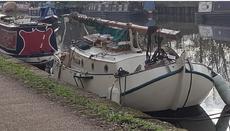 Tjalk sailing boat
