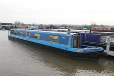Ronnie, 57ft Cruiser style narrowboat, 2007, £39,950.