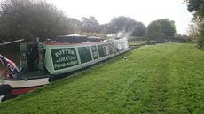 """Potter"" stoke on trent traditional stern"