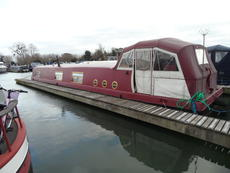 57' x 12' Widebeam with option of mooring at Saul Junction Marina