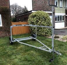 Large Double Stacking Trailer