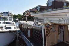 14 m Dutch Barge on Thames nr Windsor