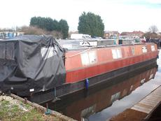 PROJECT BOAT 48ft Cruiser Stern Narrowboat