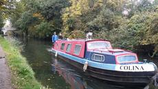 40 foot narrowboat located on West London mooring