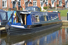 50ft Semi-Trad Stern Narrowboat