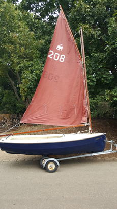 Cornish Cormorant Built 2000, Sail No 208