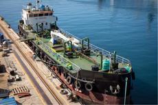 SP Tanker Barge 830 DWT blt 1982 in Greece, fully refurbished in 2017