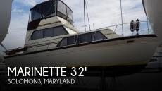 1988 Marinette 32 Sedan Bridge