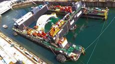 STX Triskell Catamaran Barge