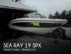 2017 Sea Ray 19 SPX