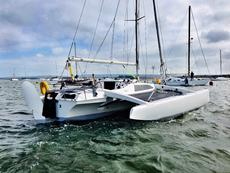 Corsair F27 trailer trimaran