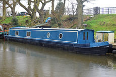 57ft Brand New Cruiser Stern Narrowboat