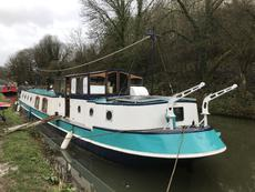 Lovely Dutch Barge.Rebuilt&refitted 2018