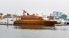 HANDCRAFTED SOLID WOOD YACHT